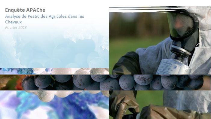 Analyse de Pesticides Agricoles dans les Cheveux
