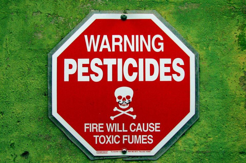PESTICIDES WARNING